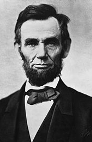 Abraham Lincoln did famously had a mole on his right cheek.