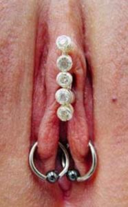 "Genital Piercing ″Women with genital piercings are no longer on the social fringe or part of the ""punk"" culture who are experimenting with behaviors that are ""socially provocative."" Over the past 30 years, genital piercing has become mainstream, and women engage in it for a variety of reasons.″ Remember that it has becomes MAINSTREAM."