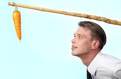 Low motivation: carrot and stick in various form is an all time strongest motivational force.
