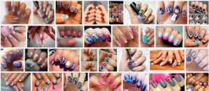 Nail Aesthetic: Nail Art Design for variety of colors, shape and texture.