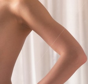 Slimming: achieving a perfect slender arm. through slimming program